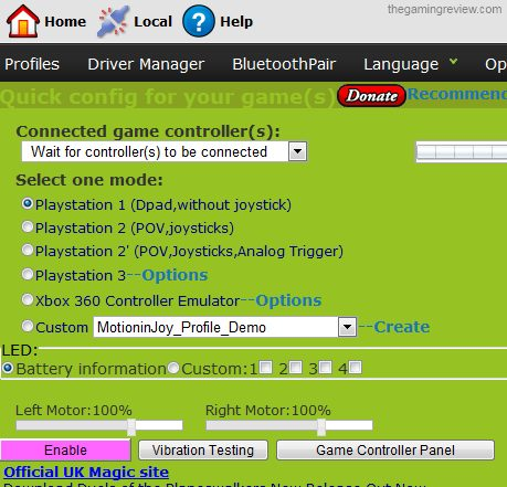 ps3 controller drivers for pc windows 7