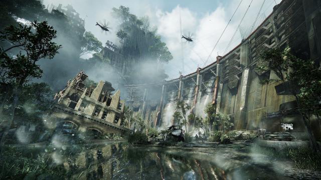 Crysis 3 Dam
