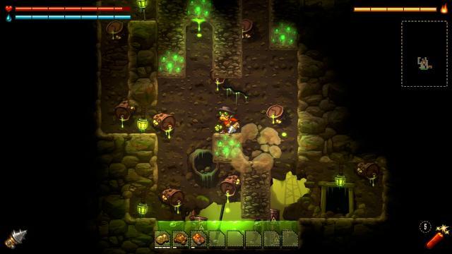 Steamworld Dig 3_oldworld_acid_cave