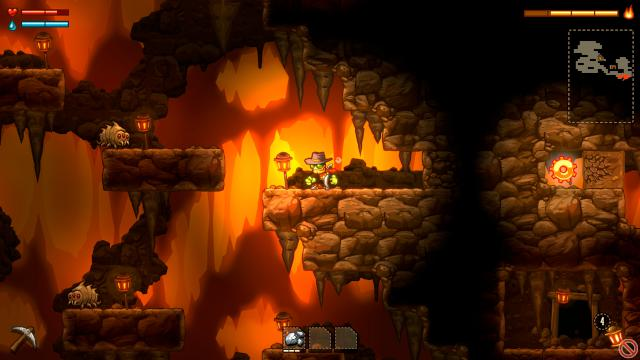 Steamworld Dig 6_drill_cave