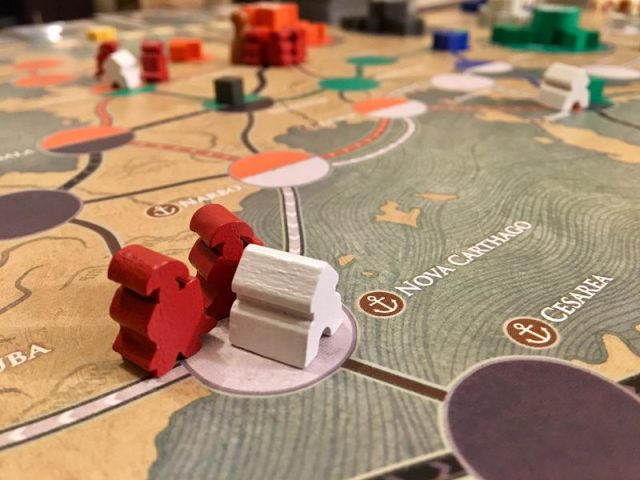 Board Game Review: Pandemic Fall of Rome | TheGamingReview com